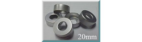 20mm Hole Punched Vial Seals