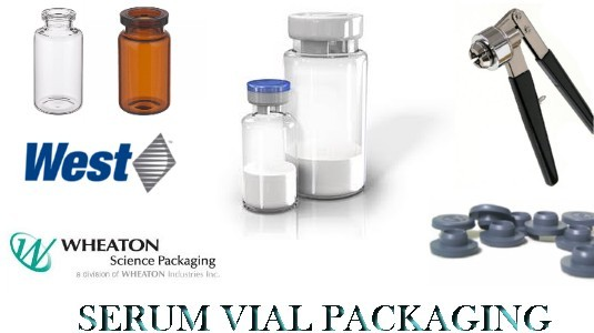 Serum Vials Seals Stoppers Crimper