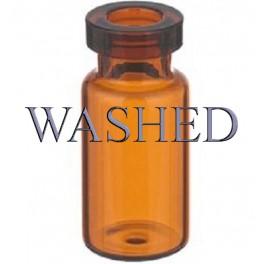 3mL Amber Serum Vials, WASHED, 17x37mm, Ream of 375