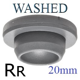 20mm Vial Stopper, Rupture Resistant, Ready for Sterilization, Bag of 1000