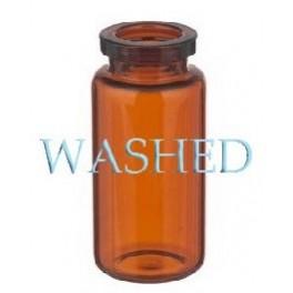Washed 10mL Amber Serum Vials, 24x50mm, Case of 756