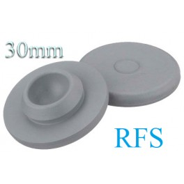 Ready To Sterilize Vial Stoppers, 30mm, Bag of 1,000
