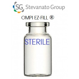 Ompi EZ-Fill Open Sterile Ready to Fill ISO 10R, Tray of 96