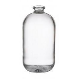 125mL Serum Bottle Vial, Clear, 54x107mm, Case of 36