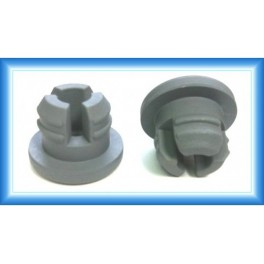 20mm Vial Stopper, 3-Leg Lyophilization Style, Thick Flange, Pack of 100