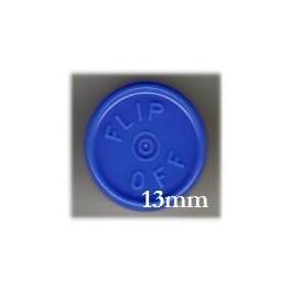 13mm Flip Off Vial Seals, Royal Blue, Pack of 100
