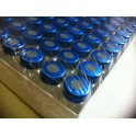 2mL Clear Sterile Vials, Blue Seals, Pk of 100
