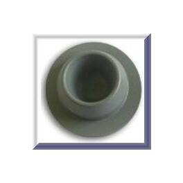 20mm Vial Stopper, Dry Round Bottom, Pk 100
