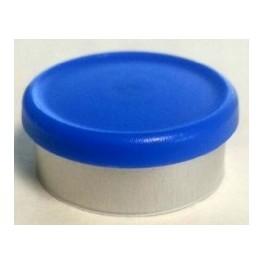 West 20mm Matte Flip Cap Vial Seal, Royal Blue, Bag 1000