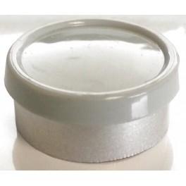 20mm Superior Flip Cap Vial Seals, Misty Gray, Bag 1000