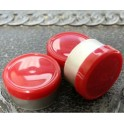 13mm West Gloss Flip Cap Vial Seal, Red, Bag 1000
