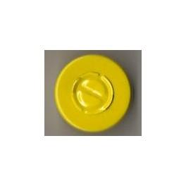 20mm Center Tear Seals, Yellow, Bag of 1000