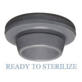 Ready To Sterilize Vial Stoppers, 20mm, Bag of 2,500